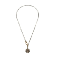 Shannon Koszyk Audaces Fortuna Invat Petit coin Necklace