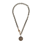 Shannon Koszyk In the Name of Father coin Necklace