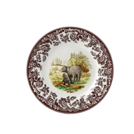 Black Bear Dinner Plate from Woodland Wildlife Collection