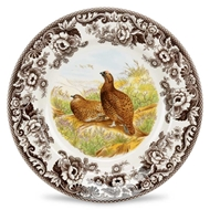 Red Grouse Dinner Plate from Woodland Collection