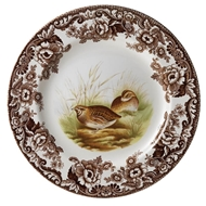 Quail Dinner Plate from Woodland Collection