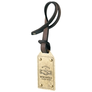 Mission Mercantile Brass Bag Tag - MM-BTB