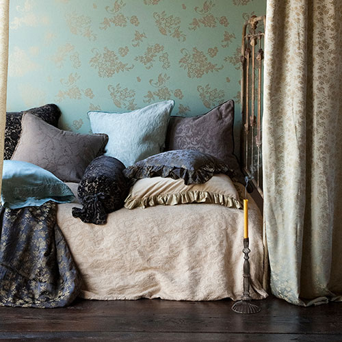 Bella Notte Adele Coverlet in Ginger