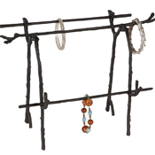 Creative Co op - Metal Twig Jewelry Holder - Vintage Jewelry Stands