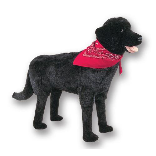 Ditz Designs Black Lab Footrest 66004