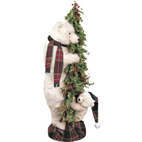 Ditz Designs - Christmas Offspring Tree BearPolar- Christmas Tree 70176