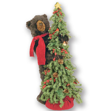 Ditz Designs - Christmas Tree Black Bear - Christmas Tree 70126