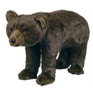 Ditz Designs Black Bear Footrest 60000