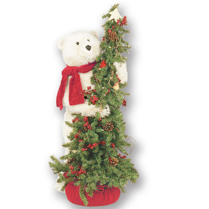 Ditz Designs - Christmas Tree Polar Bear - Christmas Tree 70127