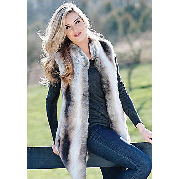 Donna Salyers - Fabulous Furs - Chinchilla Every-Wear Vest