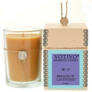 Votivo Breath of Lavender Aromatic Scented Candle