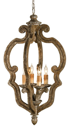 Currey Light Fixtures - 9942 Chancellor Chandelier Small - Iron Chandeliers