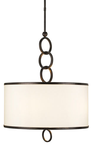 Currey Light Fixtures - 9108 Brownlow Pendant Large - Iron Pendants