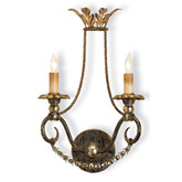 Currey Light Fixtures - 5010 Anise Wall Sconce - Iron Wall Sconce