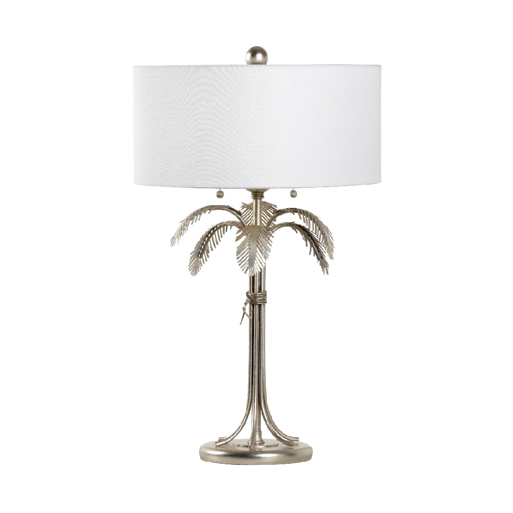 Chelsea House Lighting Fine Palm Lamp Silver