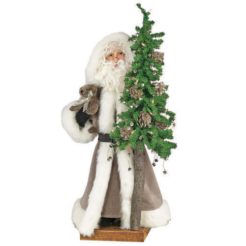 Ditz Designs Father Christmas Tabletop Santas