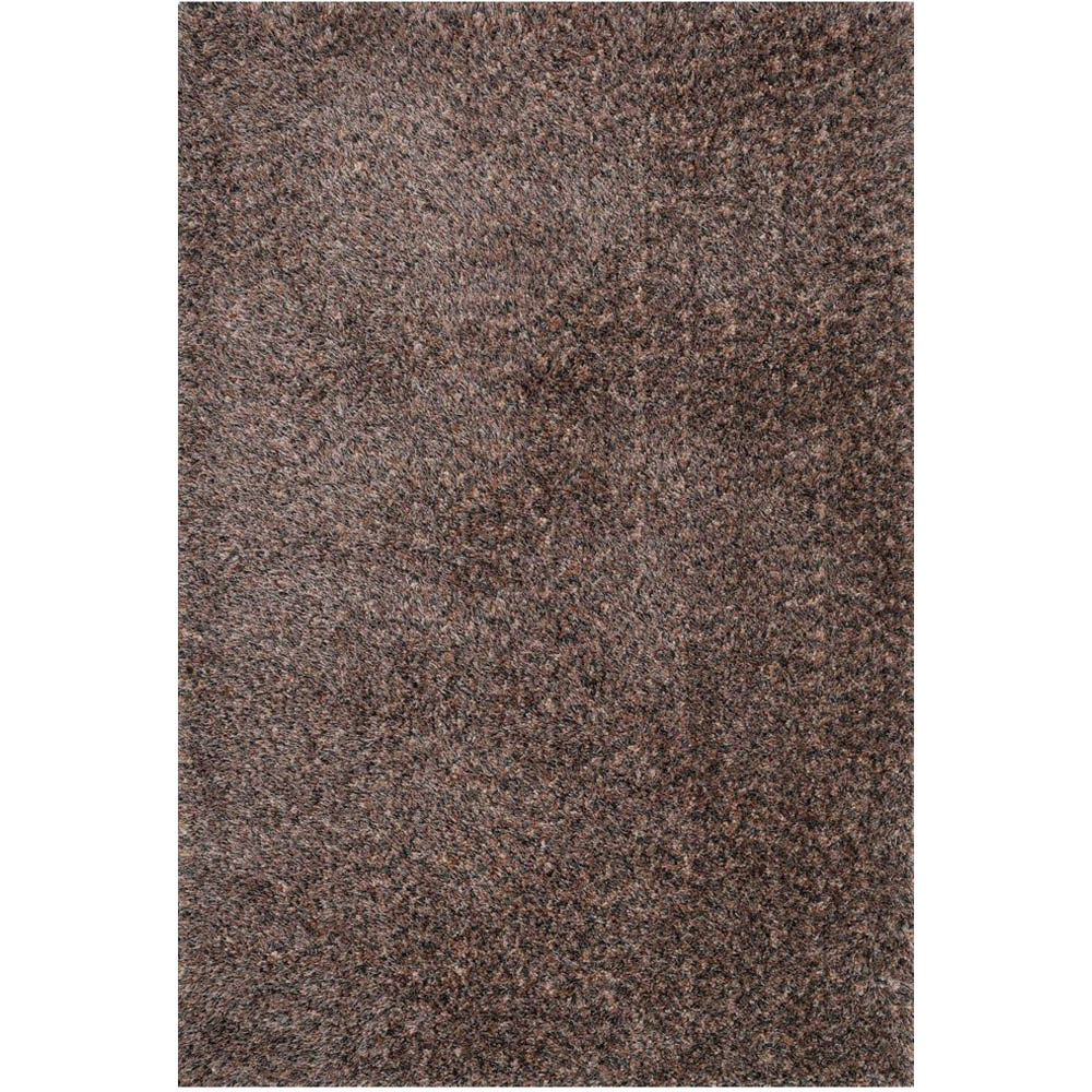 Safavieh Willow Shag Dark Brown Beige Square Indoor Machine Made Area Rug Common 7 X Actual 6 Ft W L In The Rugs Section Of