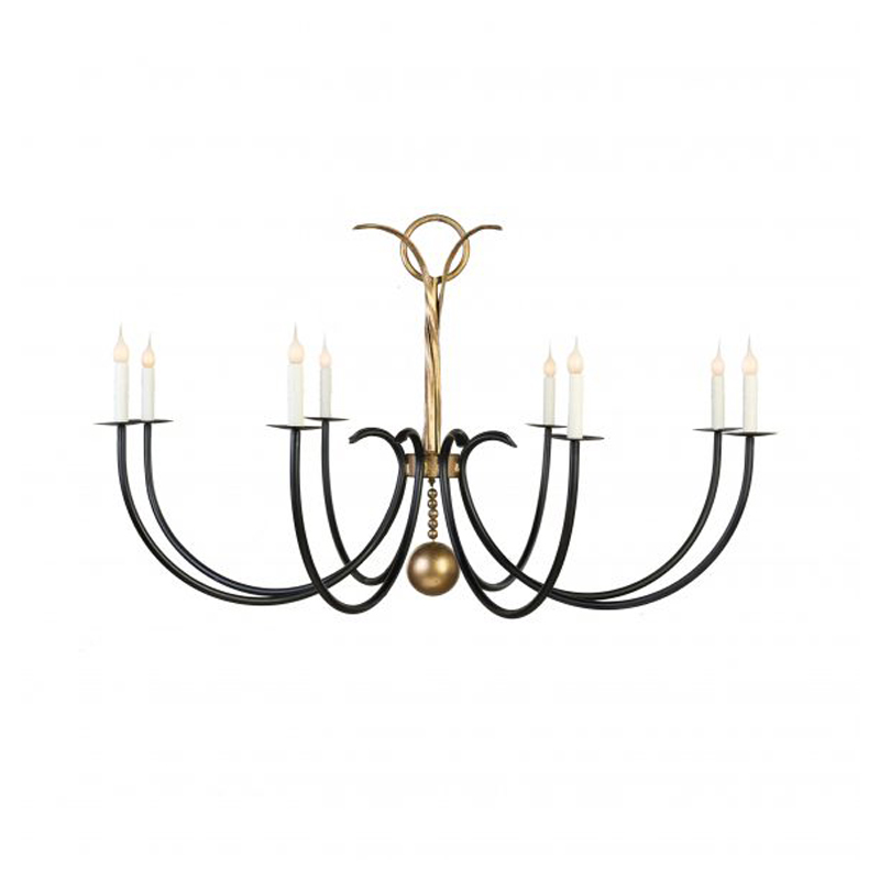 Lowcountry Originals Lighting Chesterfield Chandelier Without Leaves