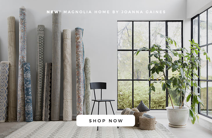 New Magnolia Home by Joanna Gaines Rugs, Throws and Pillows