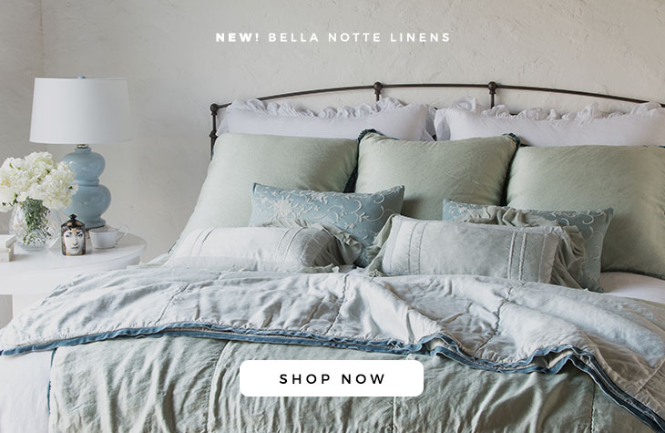 2018 Spring Collection | Bella Notte Luxury Linens