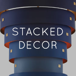 Fall 2019 Home Decor Trend - Stacked Decor