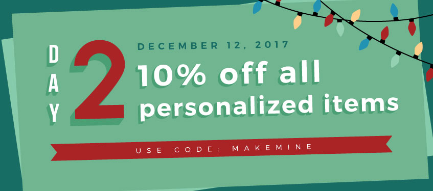Discount Personalized and Monogrammed Gifts | 24 hr Holiday Decor Sale