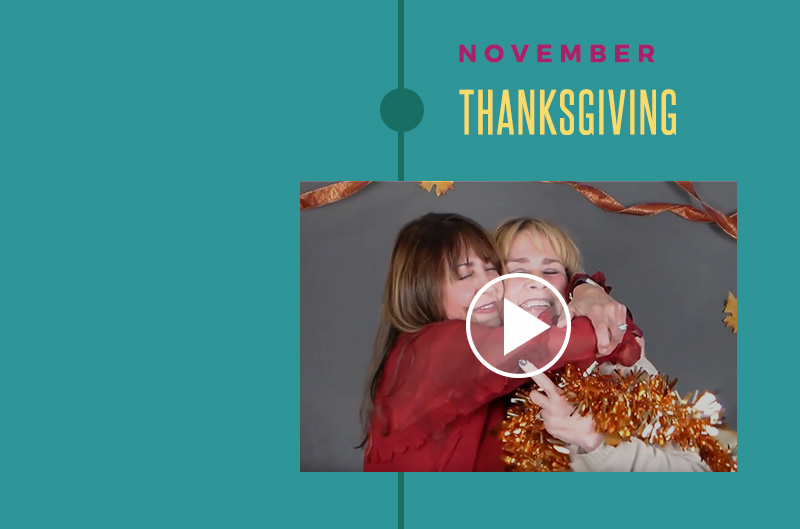 Happy Thanksgiving Video | Peace Love & Decorating Thanksgiving Holiday Video