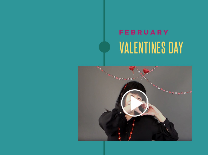 Happy Valentines Day Video | February Peace Love & Decorating Holiday Video