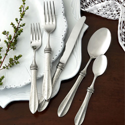 Shop Arte Italica Flatware At Peace, Love & Decorating. FREE SHIPPING On All Orders!