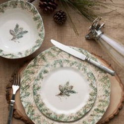 Shop Arte Italica Foresta Dinnerware At Peace, Love & Decorating. FREE SHIPPING on All Orders!