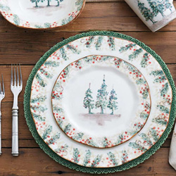 Shop Arte Italica Natale Dinnerware At Peace, Love & Decorating. FREE SHIPPING on All Orders!