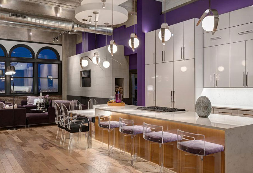 2018 Pantone Color of the Year Ultra Violet | Interior Design Trend