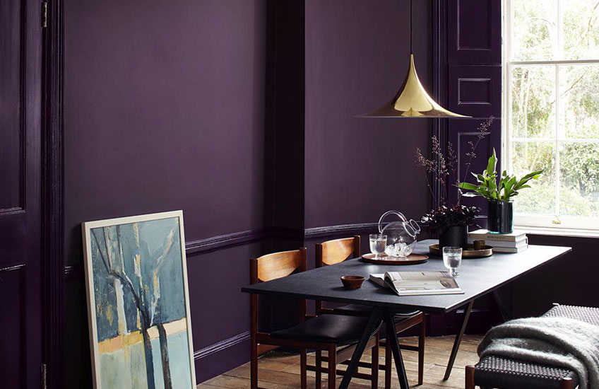 Color of the Year 2018 | Ultra Violet Home Decor