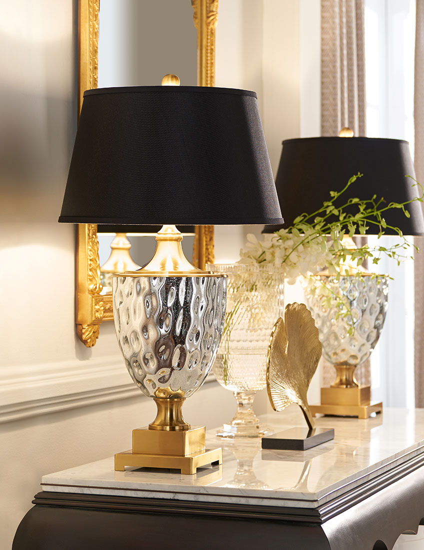 Home Decor Trend Mixed Metals | Wildwood Table Lamps