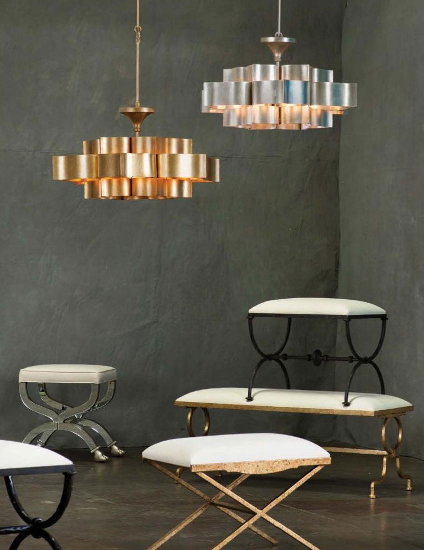 Home Decor Trend Mixed Metals | Currey & Company Furniture and Lighting