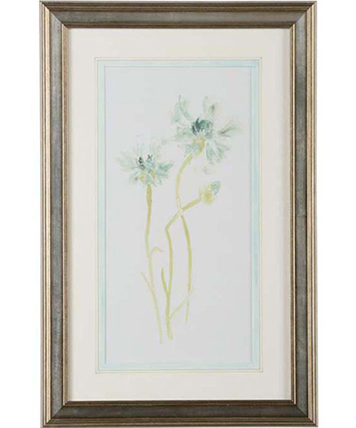 Chelsea House Corn Flower Study Wall Art | PLD Staff Favorites