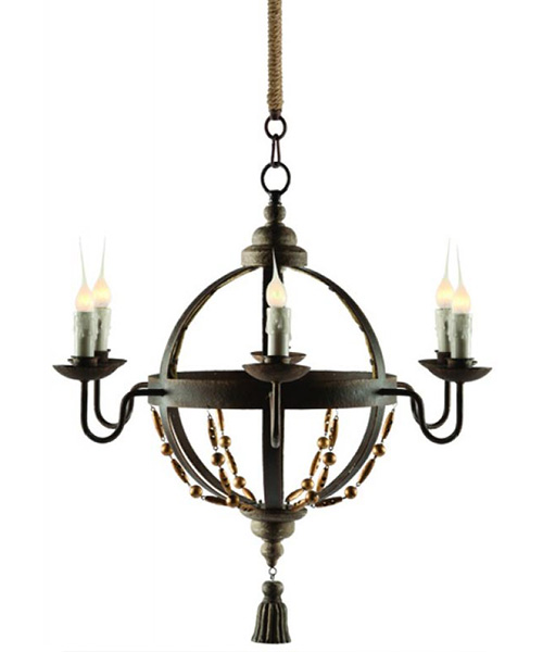 Aidan Gray Atlas Chandelier | PLD Staff Favorites