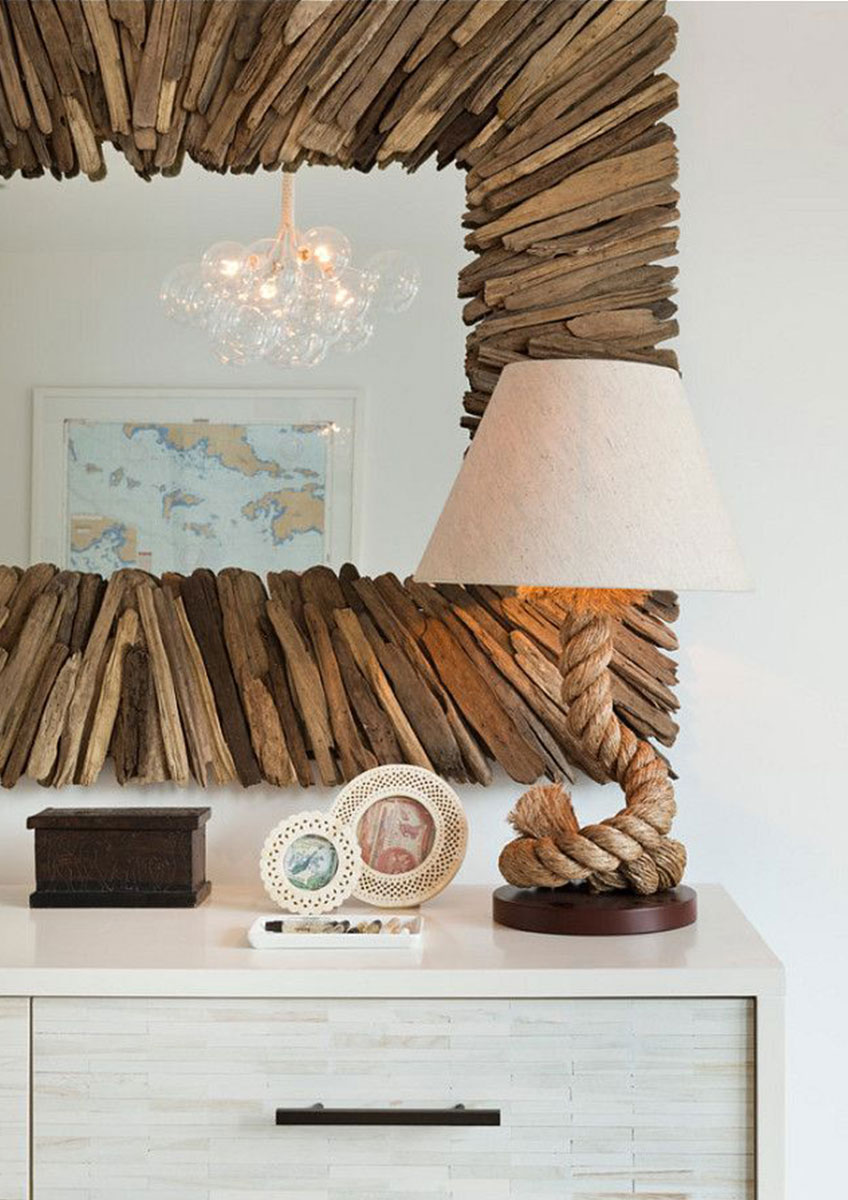 Currey & Company Home Accessories | Beachhead Driftwood Mirror