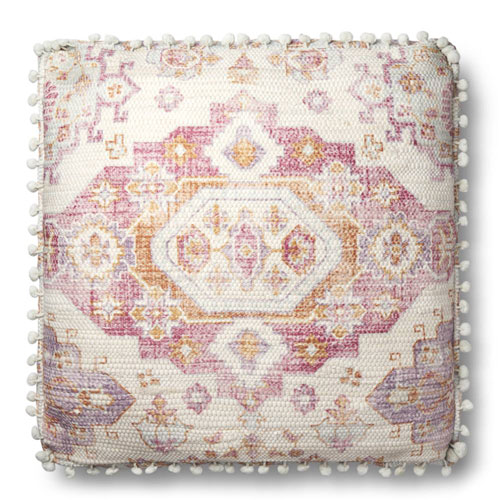 Magnolia Home by Joanna Gaines - Lin Pillow Pink & Multi - P1081 | PLD Staff Favorites