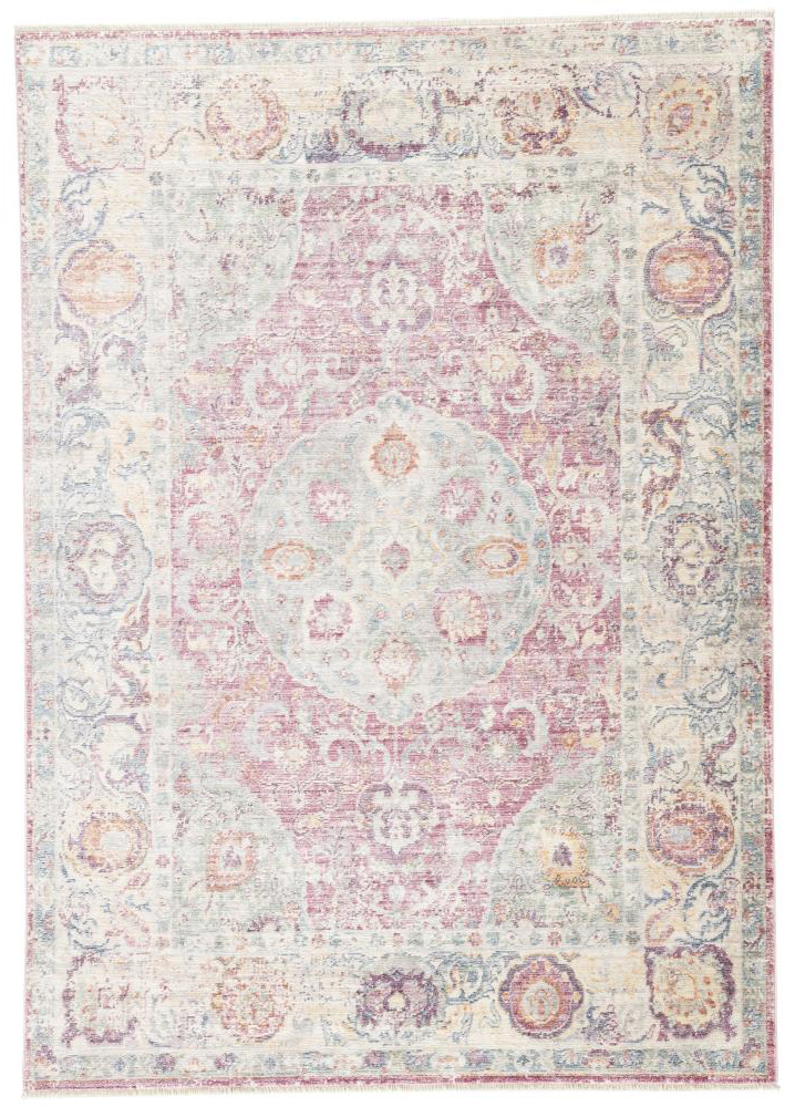 Jaipur Voxen Rug from Serena Collection - Pink & Multicolor | PLD Staff Favorites