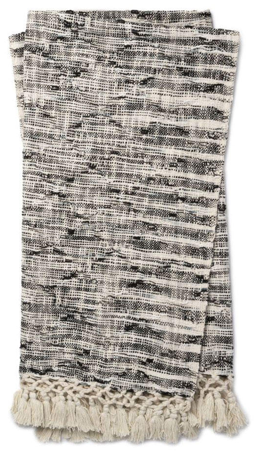 Magnolia Home by Joanna Gaines Else Black Throw Blanket | PLD Staff Favorites