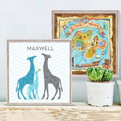 Childrens Wall Art | Baby Room Wall Decor