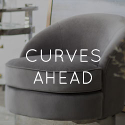 Spring 2019 Home Decor Trend - Curves Ahead