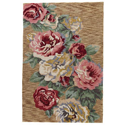Luxury Rug With Pattern | High End Area Rugs With Floral Designs