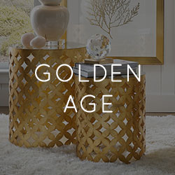 Fall 2018 Home Decor Trend - Golden Age