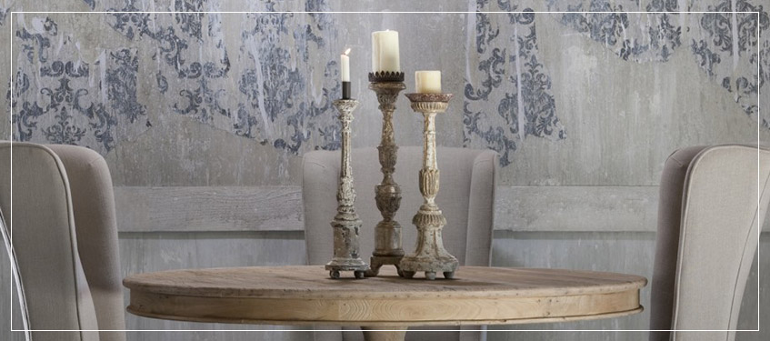 aidan gray candlesticks candle holders rustic designer lighting