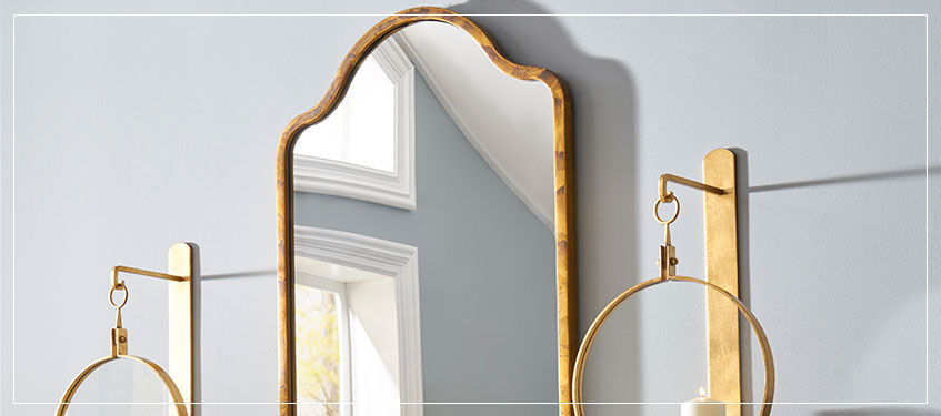 Chelsea House Mirrors   Decorative Wall Mirrors   Large Framed Mirror