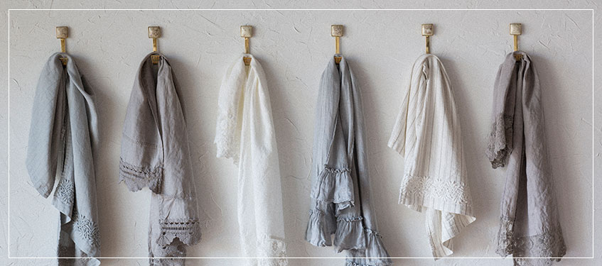 Shop Luxury Designer Guest Towels | Hand Dyed Eco Friendly Linen