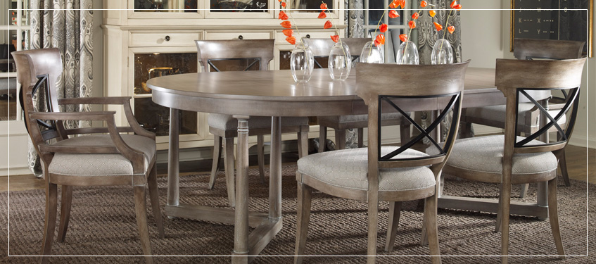 Shop Vanguard Dining Tables | Custom Handcrafted Dining Room Furniture
