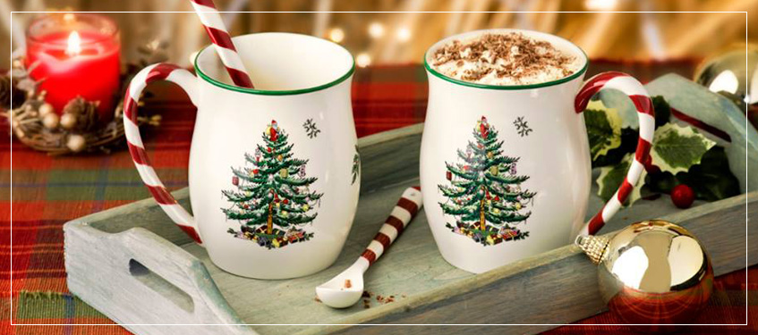 Shop Holiday Dinnerware Plates | Festive Fine China For Holiday Dining